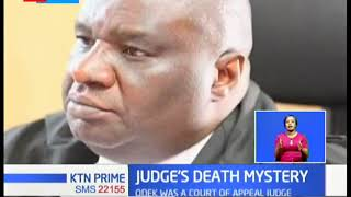 Judiciary in mourning as Court of Appeal Judge Odek found dead in his house