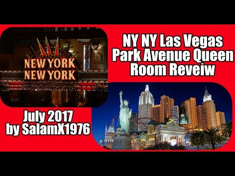 NY NY Las Vegas Park Avenue Queen Room Review by salamx1976