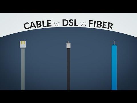 Cable vs DSL vs Fiber Internet