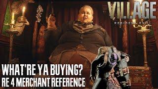 "RESIDENT EVIL VILLAGE - ""What're ya buyin?"" RE4 Merchant Reference (The Duke's Emporium)"