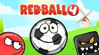 RED BALL 4 КРАСНЫЙ ШАРИК Часть 3 МРАЧНАЯ ФАБРИКА прохождение ВИДЕО игры game