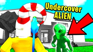 I Exposed An Undercover Alien And His Plan Creepy Roblox