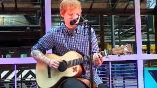 Ed Sheeran - Wonderwall Oasis (cover) Brussels