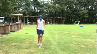 Kaitlin Clancy raw golf skills