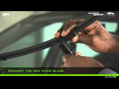 How to Fit Valeo Silencio Side Pin Wiper Blades Type No. 1