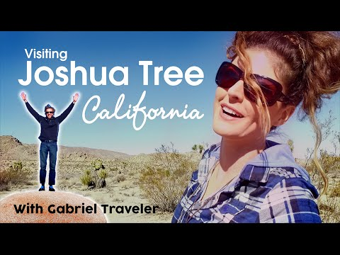 Video Visiting Joshua Tree National Park, California With Gabriel Traveler