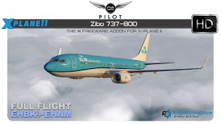 Xplane 11 -ZIBO 737 800 -Noobies guide -Full Flight -VR - Самые