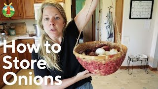 How to Store Onions for Long-Term