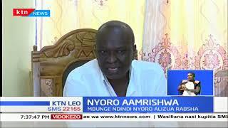 Mbunge Ndindi Nyoro atakiwa kuandika taarifa kwa polisi