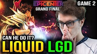 LIQUID vs LGD - MIRACLE INVOKER SECRET WEAPON GAME 2 - EPICENTER XL GRAND FINAL