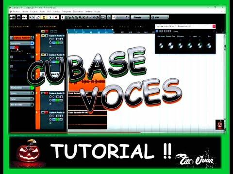 Videotutorial; mezclar pistas de voz y sonidos (musica) con Cubase