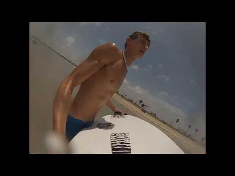 Skim Boarding in Rockport Texas