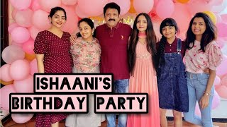Ishaani Krishna Birthday Celebration|| Ishaani Krishna Latest Vedio