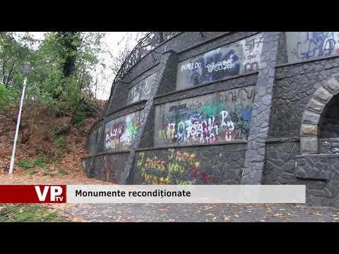 Monumente recondiționate și apoi vandalizate