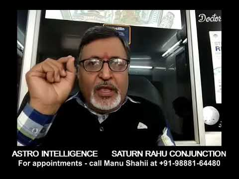 Saturn(Shani) - Rahu Conjunction - Astro Intelligence