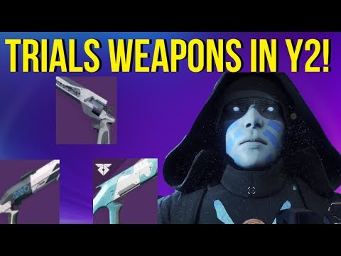 Using Trials Weapons In Year 2! - Destiny 2