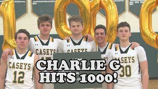 Red Bank Catholic 75 Shore Regional 48 | Charlie Gordinier 1000th point