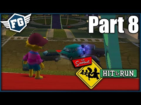 APU A NEVIDITELNÁ LÍZA - The Simpsons Hit & Run #8