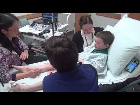 Trevor's EMG Test at Primary Children's Medical Center Part 8