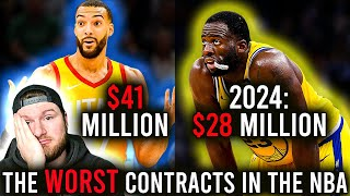 The 6 WORST Contracts In The NBA Right Now