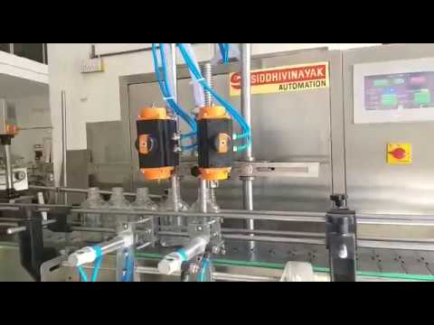 Automatic Liquid Bottle Filling Machine
