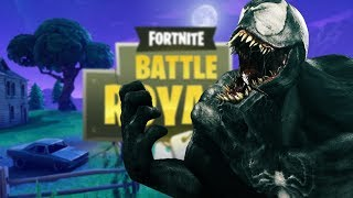 VENOM VOICE TROLLING ON FORTNITE