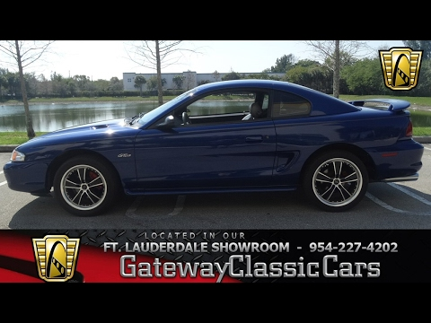 Video of '96 Mustang - $9,995.00 Offered by Gateway Classic Cars - Fort Lauderdale - KJ79