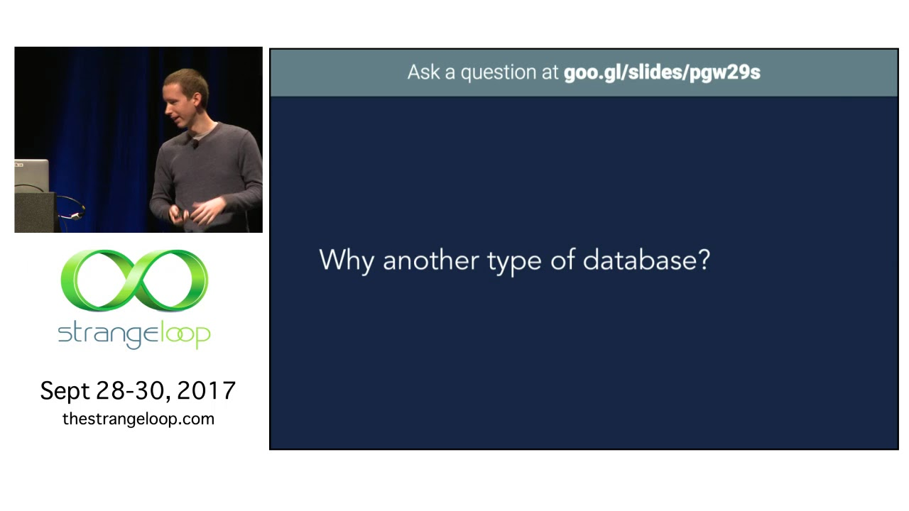 The Hows & Whys of a Distributed SQL Database [StrangeLoop 2017]