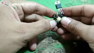 Download Video Cara Membuat Inveter Dc 1,5v to Ac 220v Sederhana MP3 3GP MP4