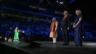 India & Canada Anthems with PM Modi and PM Harper – Shweta Subram