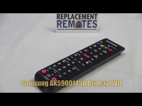 Buy SAMSUNG AK59-00145A AK5900145A Blu-Ray DVD Player Remote