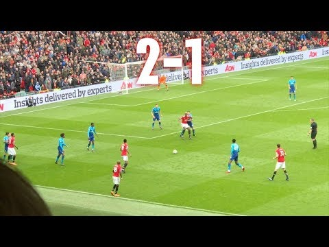 Manchester United v Arsenal, 2-1, Premier League, 29.04.18