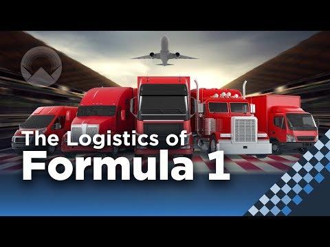Šílená logistika Formule 1