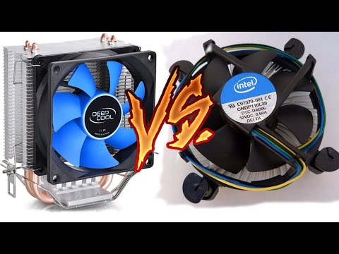 Cooler Deep Cool Vs Cooler Stock!  + Unboxing