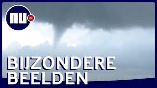 Waterhozen bij Scheveningen gefilmd door strandgangers   NU nl