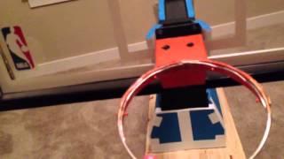 Model NBA Spalding Basketball Backstop System(near Finished)