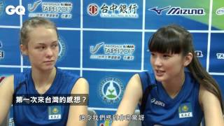 Kazakhtan volleyball girl Sabina Exclusive Interview