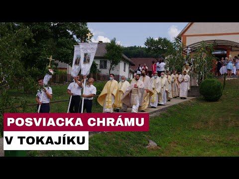 Vladyka Ján Babjak posvätil obnovený interiér chrámu v Tokajíku