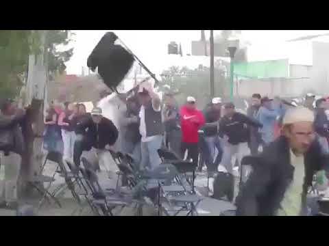 EVENTOS DE PRECAMPAÑA DE MORENA EN LA CDMX TERMINAN EN ZAFARRANCHO
