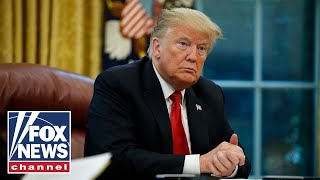 Trump speaks at roundtable with law enforcement amid calls for defunding