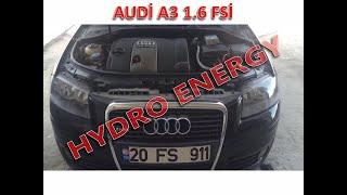 AUDİ A3 1.6 fsi hidrojen yakıt tasarruf sistem montajı