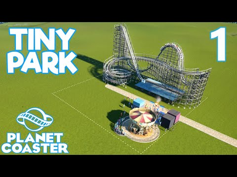 Planet Coaster TINY PARK - Part 1 - TINY WOODEN COASTER
