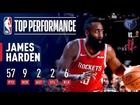 a685d61028e3 James Harden s EPIC 57 Point Performance