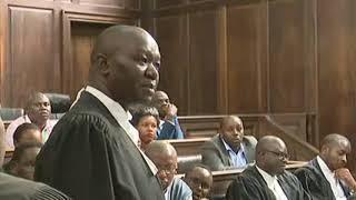 Advocate Ojienda's submission in the Waititu case