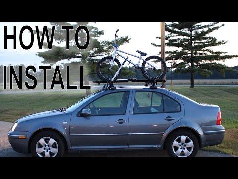 BIKE ROOF RACK (How to Install)