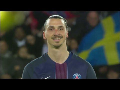 Höjdpunkter: Hyllad Zlatan slog målrekord i sista matchen - TV4 Sport
