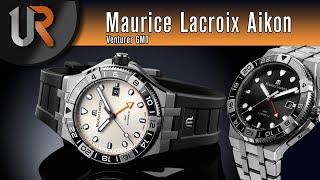 Maurice Lacroix erste GMT-Uhr! (Maurice Lacroix Aikon Venturer GMT)