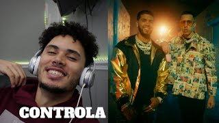 REACCIONO A Controla 🎮   Brytiago & Anuel AA | AlberticoTv