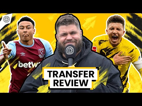 Sancho & Lingard Swap Deal INBOUND?! | Transfer Review w/ Stephen Howson