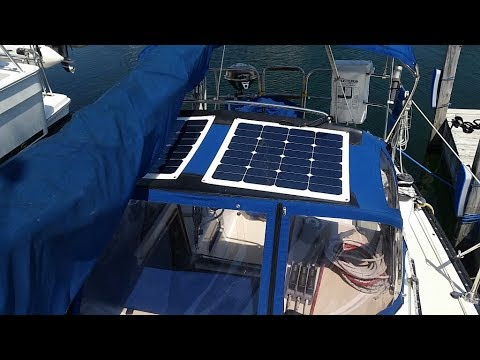 Tips - Flexible or Rigid Solar Panel for a Boat